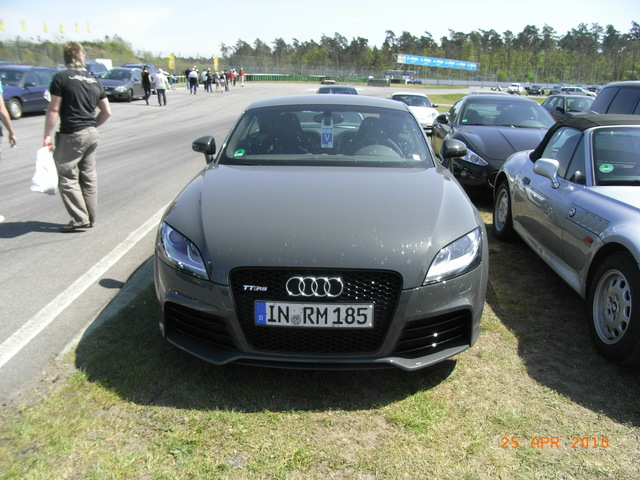 Hershey Car Show >> VWVortex.com - Audi Exclusive Nimbus Grey TT RS Final Edition at Audi Exchange